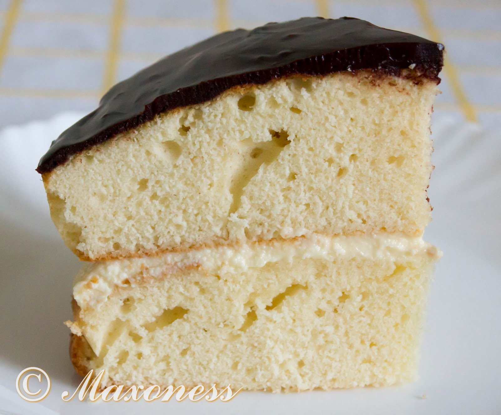 Бостонский сливочный пирог от Гордона Рамзи. Американская кухня.