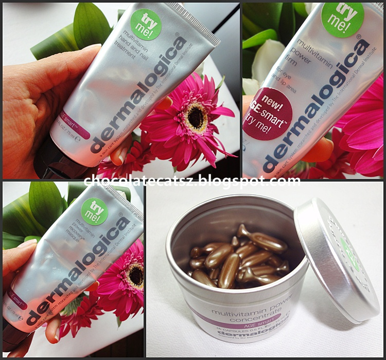 Chocolate Cats: Dermalogica AGE smart Solution