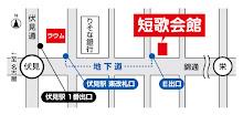 MAP(短歌会館・ラウム)