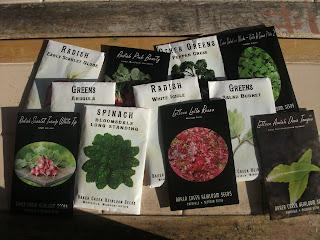 Salad Greens from Baker Creek Heirloom Seeds