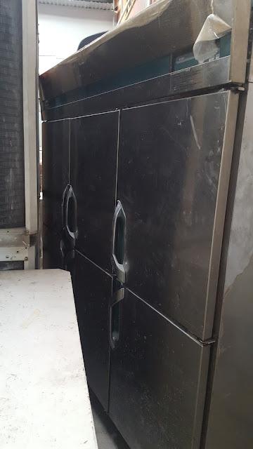 Thanh lý tủ đông inox 6 cánh 3 pha 200v