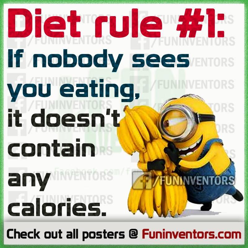 Funny diet rule