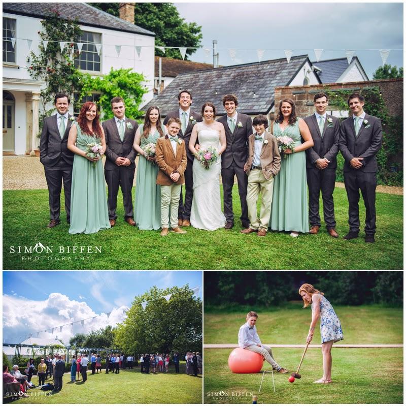 Roughmoor Farm wedding photography reception
