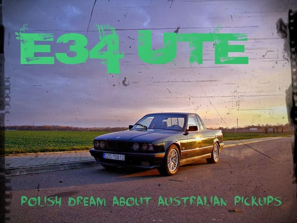 BMW E34 ute pickup pick-up