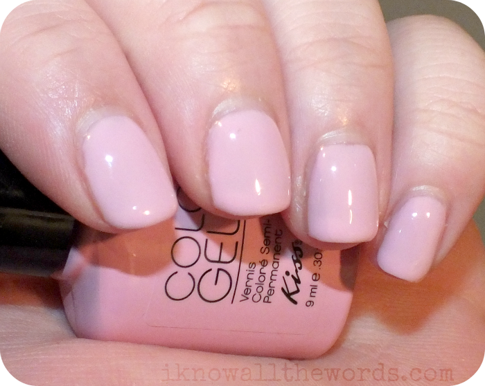 Kiss Everlasting Gel Polish and Pro LED Lamp | I Know all the Words