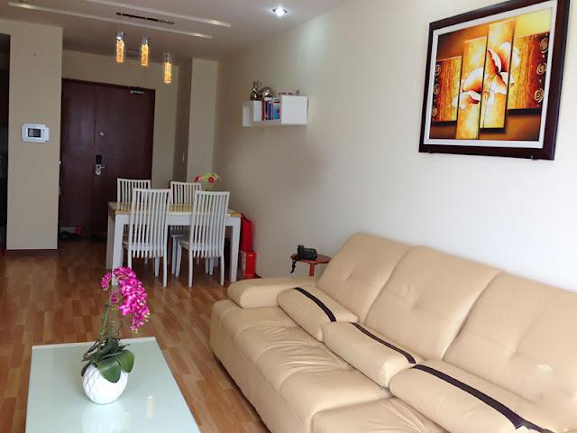 Cần cho thuê căn hộ Morning Star 3PN Phong Khach