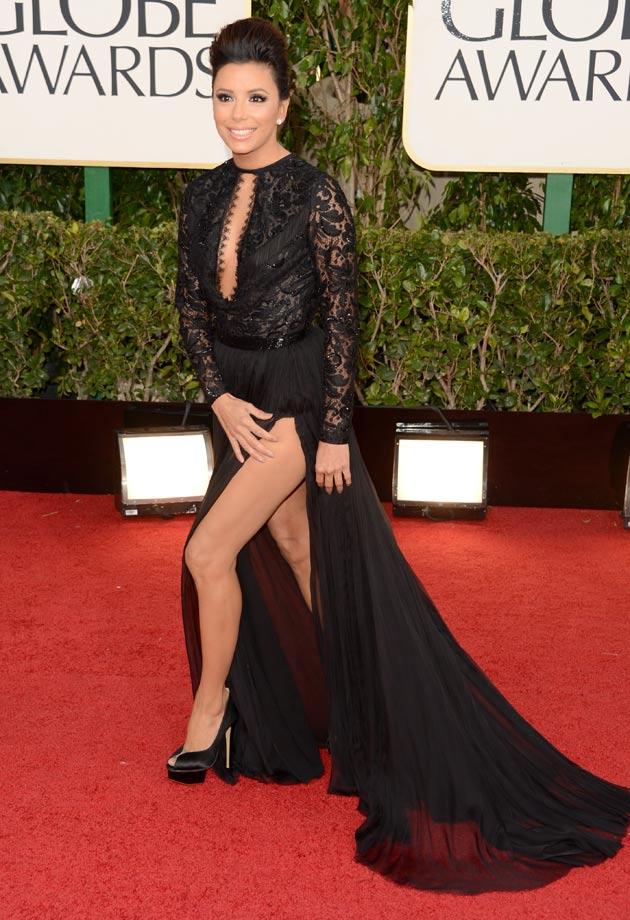 Eva Longoria Red Carpet Wardrobe Malfunction