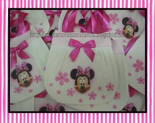 Recuerdos Para Baby Shower De Minnie