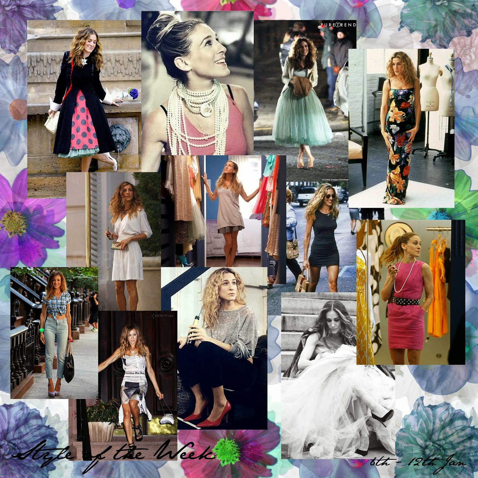 STYLE OF THE WEEK : CARRIE BRADSHAW