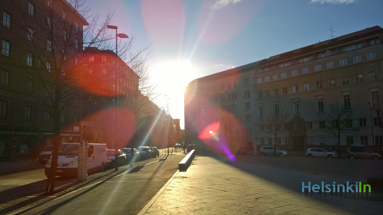 Sunshine in Kamppi