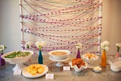 O que servir na festa das bodas de lã