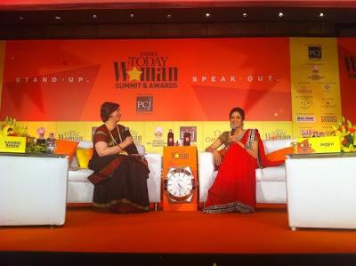 Sridevi Kapoor at India Today Woman Summit & Awards