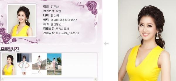 นางงามเกาหลี 2013 ศัลยกรรม หน้าเหมือนเป๊ะ - 15