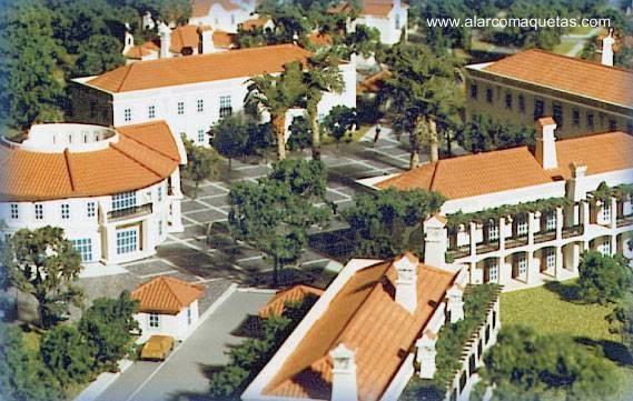 Arquitectura de Casas: Maquetas de arquitectura en España.