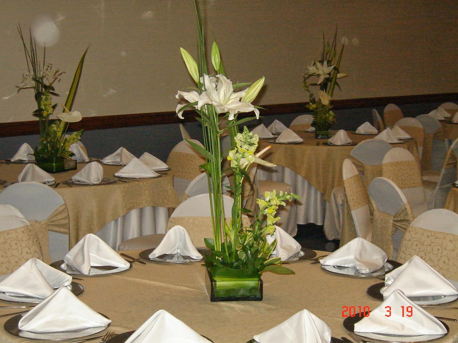 Centros de mesa para bodas con orquideas car interior design - Mesas de cristal para bodas ...