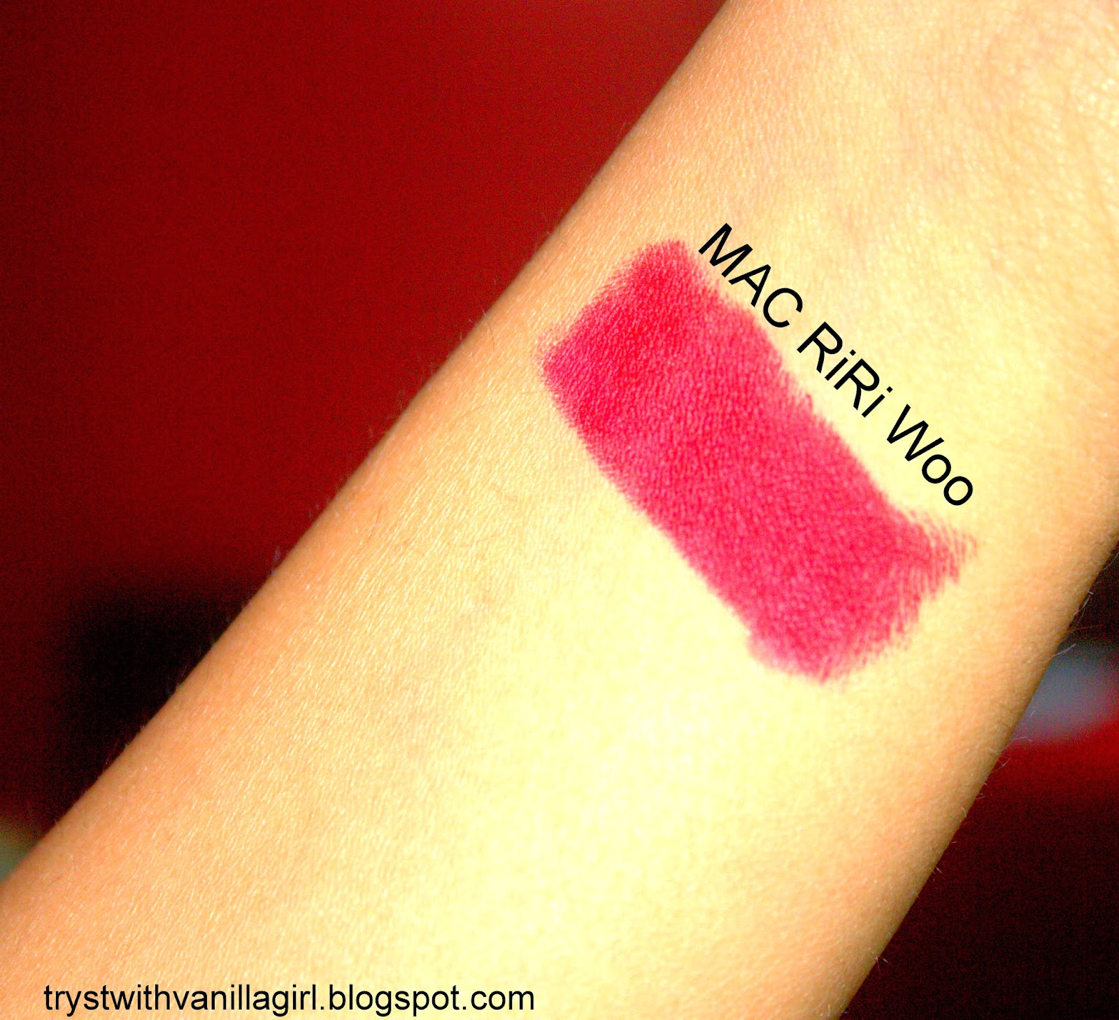 beauty blog,mac ririwoo,radhaabhishek