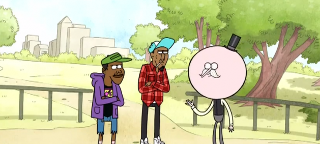 Kid Cudi  Childish Gambino  MC Lyte  and Tyler The Creator Star In New    Childish Gambino And Tyler The Creator On Regular Show