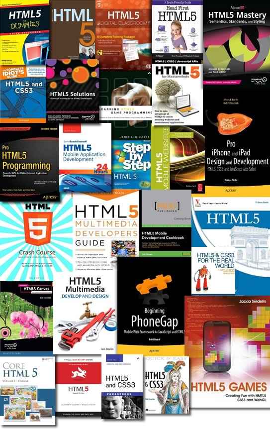 HTML5 eBooks Collection[PDF]