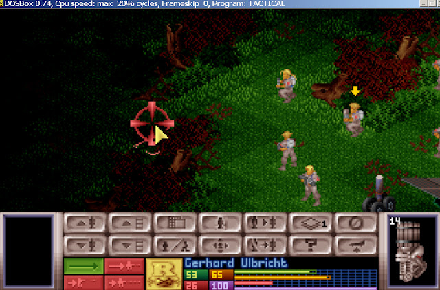 UFO: Enemy Unknown - First Mission Screenshot