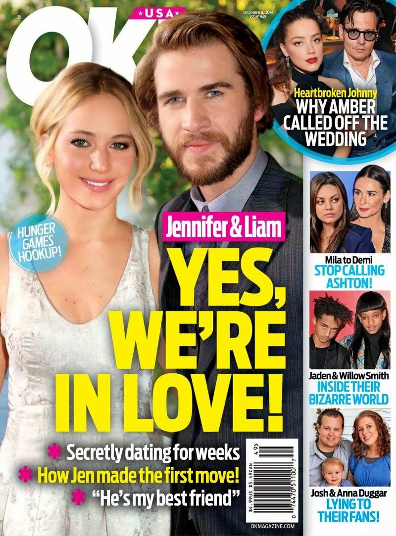 Jennifer Lawrence - OK Magazine, USA, December 2014