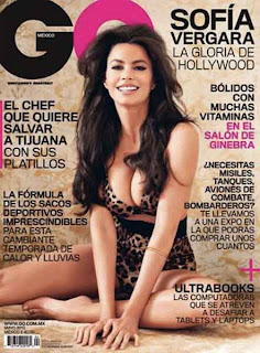 Sofia Vergara hot pose GQ mexico