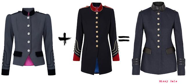 Clon fashion chaquetas de La Condesa vs. Altuzarra