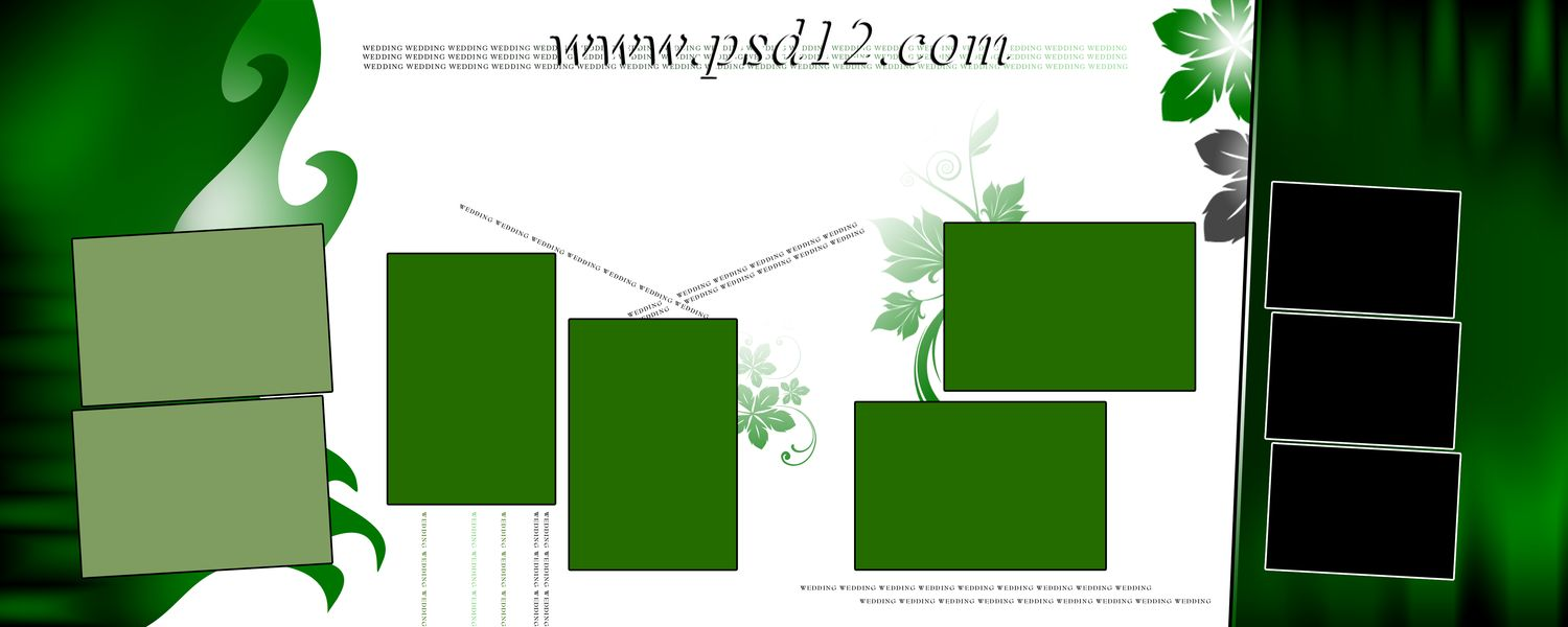 12x30 psd karizma album background and templates 5