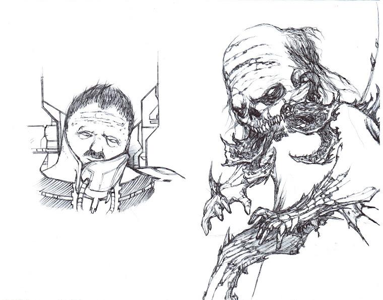 Dead Space boceto.1