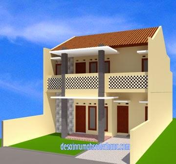 Minimalis 2 Lantai Type 100 Luas Tanah 120 M2 | Desain Rumah Sederhana