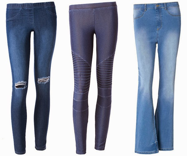 Calzedonia leggings denim jeans