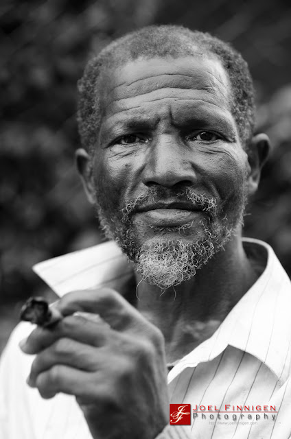 old jamaican man