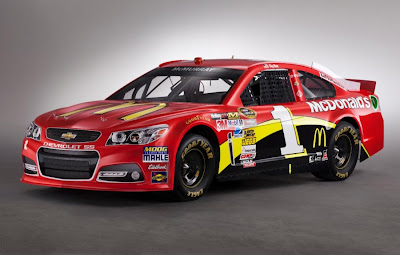 Chevrolet SS NASCAR 2013 #1 Front Side