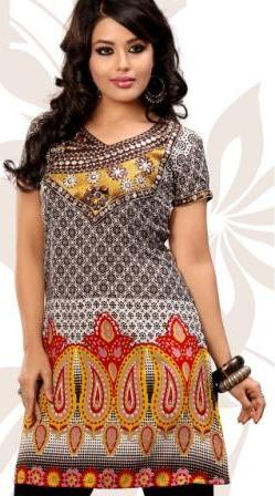 Multicolor-Fashion-Party-Wear-Kurti
