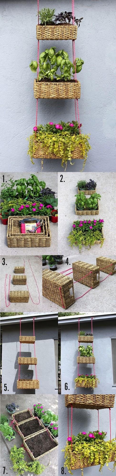 Beautiful Hanging Basket : Garden DIY