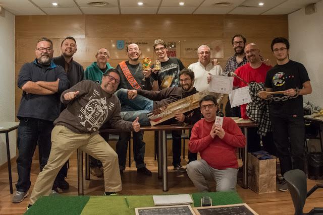 Los 12 valientes participantes en el torneo de DBA