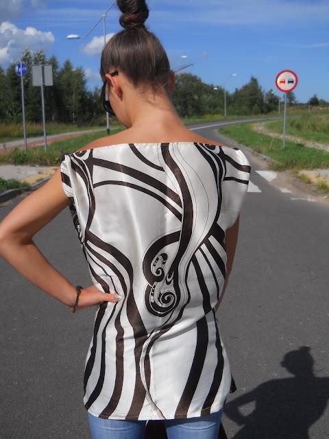 elegancka bluzeczka na lato