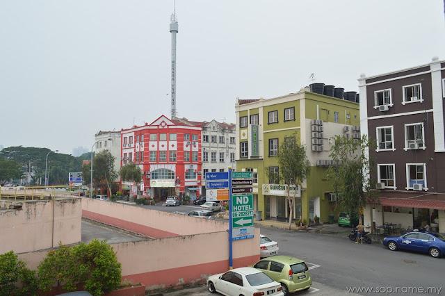 Menginap di Hotel Seri Costa Melaka