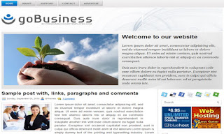 goBusiness Blogger Template