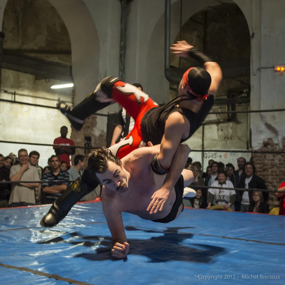 Wrestling, La Tabacalera (Madrid)