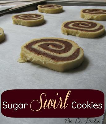 swirl cookies, sugar cookies