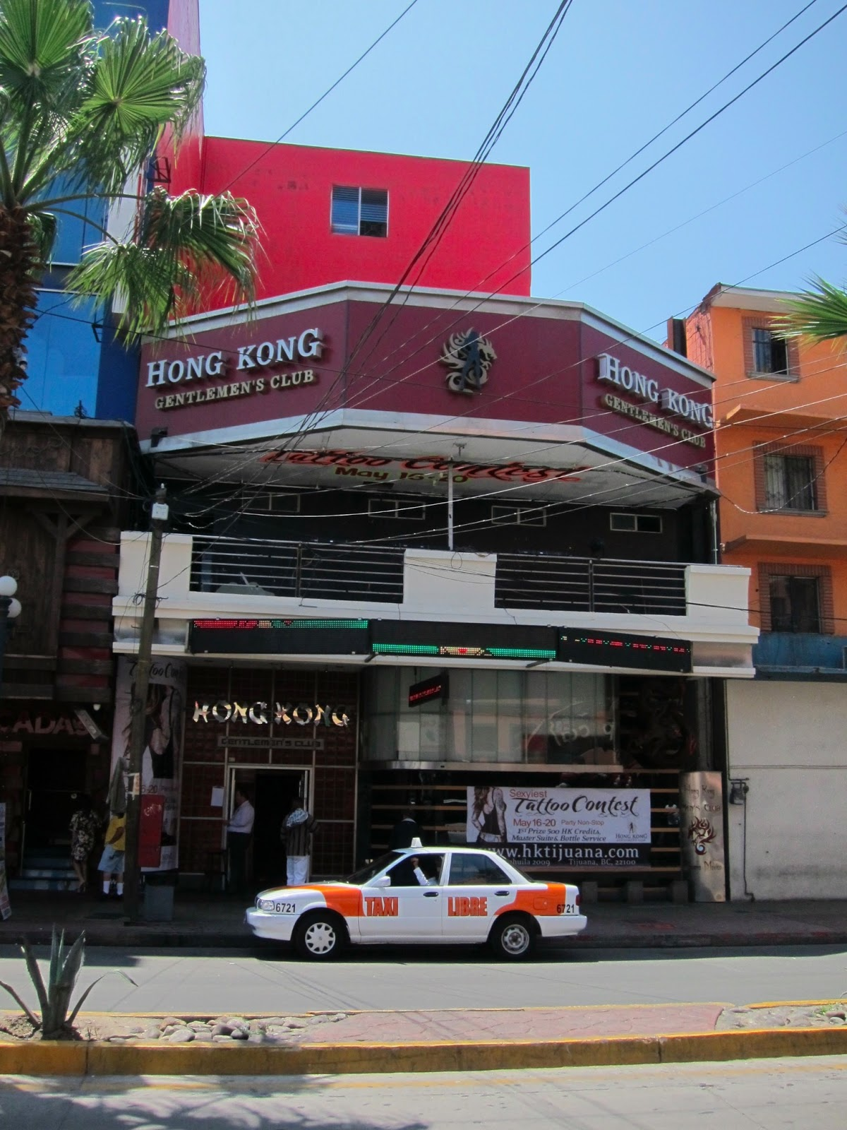 Tijuana mexico sex strip club times