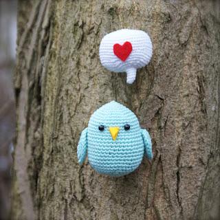 bird crochet pattern vogel vogeltje haakpatroon gratis