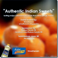 Authentic Indian Sweets w Giveaway @ Nivedhanam