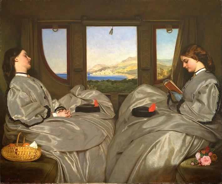 Augustus Egg, The Travelling Companions, 1862