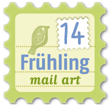 Frühling mail art
