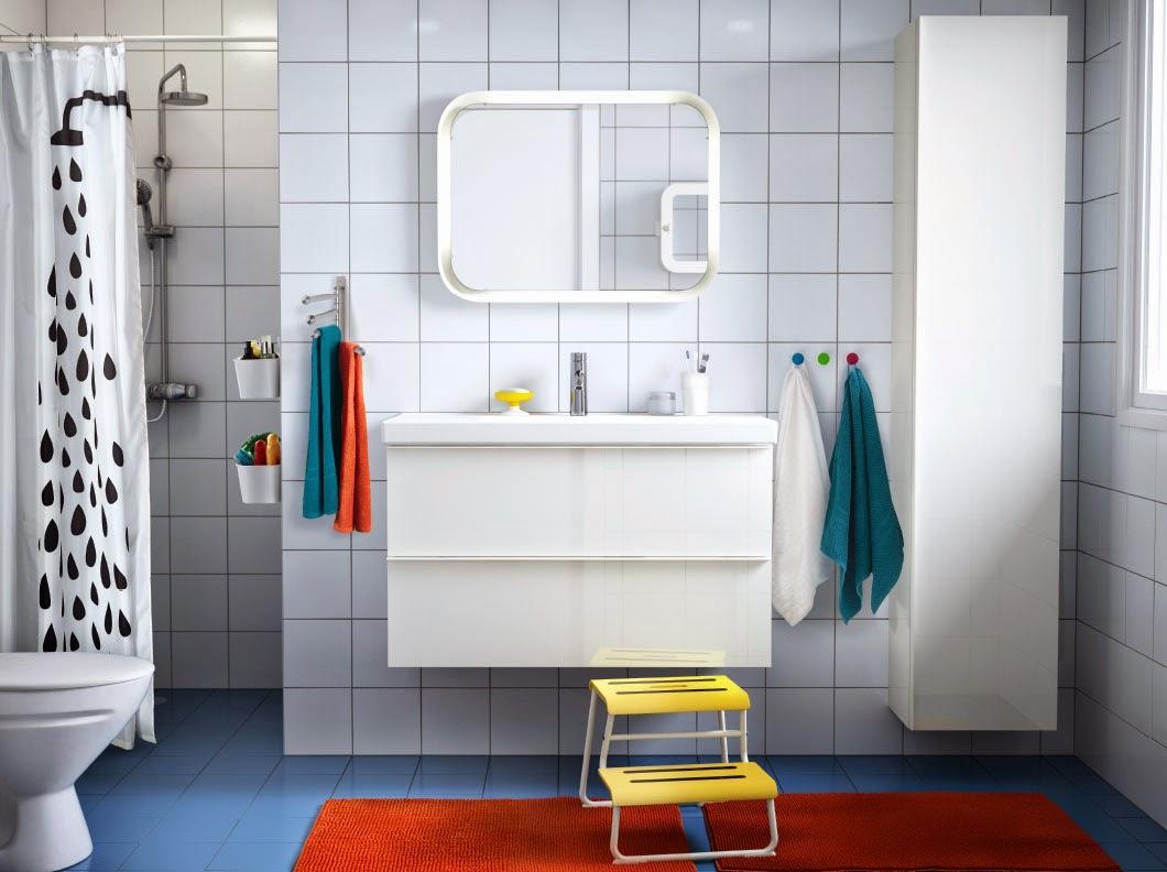 Organización en el baño