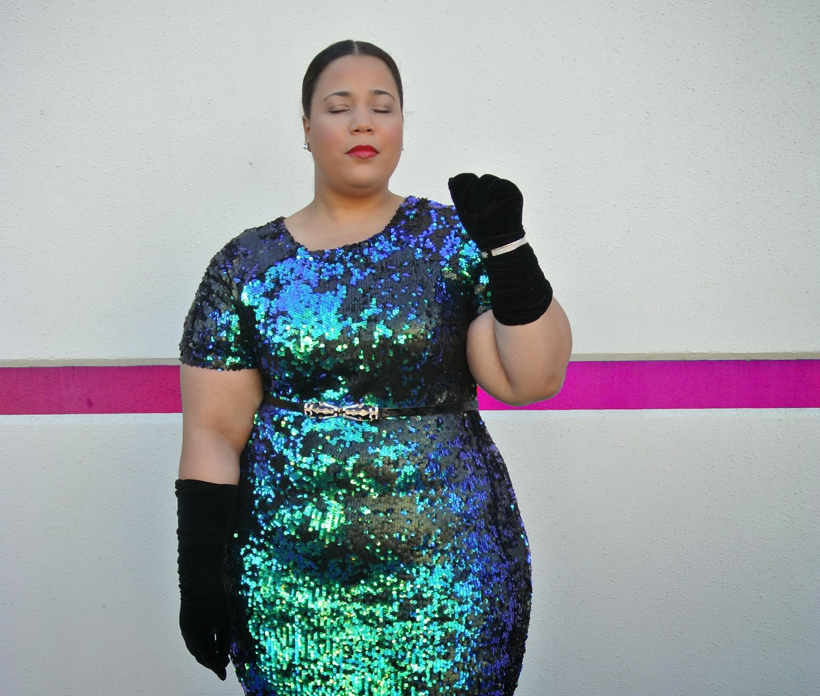 Holiday dress, plus size dress, simplybe, sequin dress