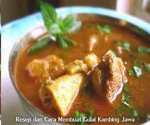 Resep dan Cara Membuat Gulai Kambing Jawa