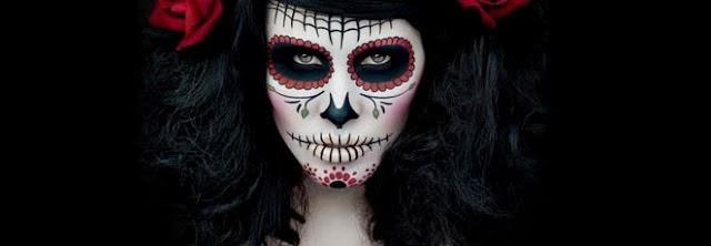 My happy hour maquillajes para halloween - Maquillage dia de los muertos ...