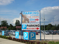 Parking lotnisko Wrocław - Pod Żyrafą